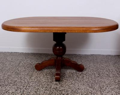 č.564 kuchyňský stůl - oválný 160x91 cm