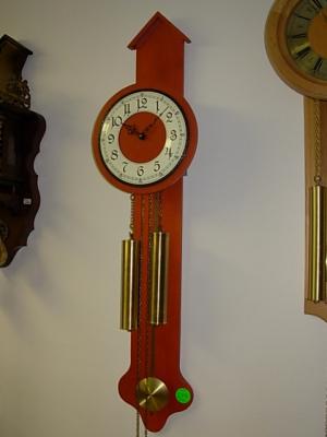 č.594 hodiny závěsné mechanické