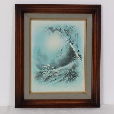 č.362 obraz olej 47x57 cm