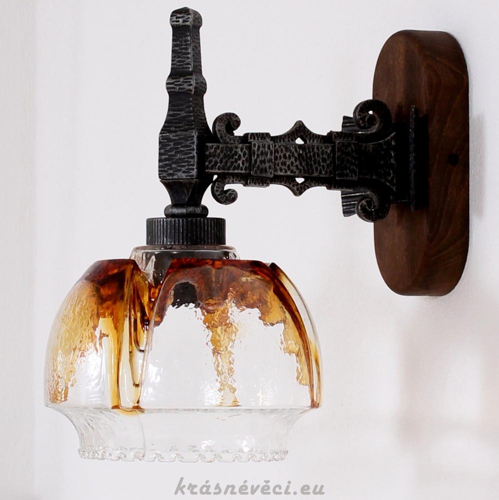 č.1382 lampa závěsná