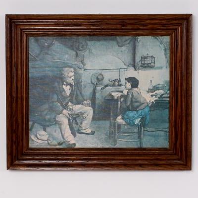 č.1421 obraz 60x51 cm