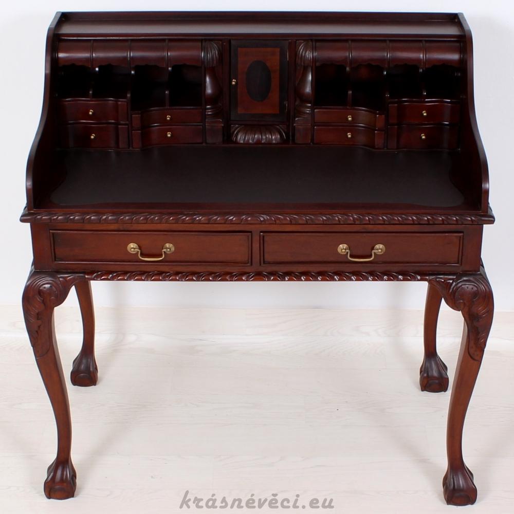 č.1932 psací stůl dřevěný
