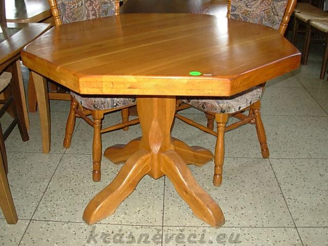 č.373 kuchyňský stůl osmihran 110x110 cm