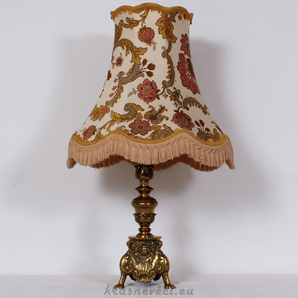 č.711 lampa stolní mosazná v 80 cm