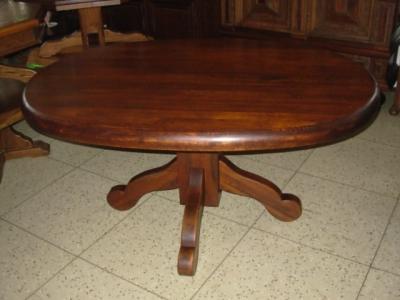 č.1182 kuchyňský stůl oválný 160x117 cm